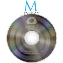M-DISC archiválás - DVD-re (4.7 Gb)