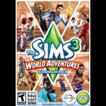 The Sims 3: A világ körül DLC - kiegészítő, elektronikus kulcs
