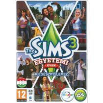 The Sims 3: Egyetemi évek DLC - kiegészítő, elektronikus kulcs