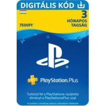 PlayStation Plus előfizetés 90 nap / 3 hónap (HU) - digitális