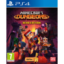 Minecraft Dungeons - Hero Edition (PS4) játékprogram