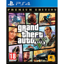 Grand Theft Auto 5 - GTA V Premium Edition - PS4 játék
