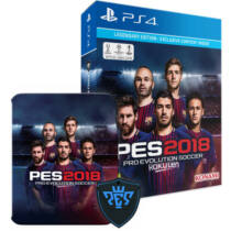 Pro Evolution Soccer - 2018 - Legendary Edition - Ps4