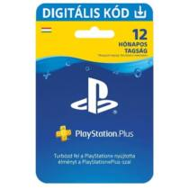 PlayStation Plus előfizetés 365 nap / 12 hónap / 1 év (HU) - digitális