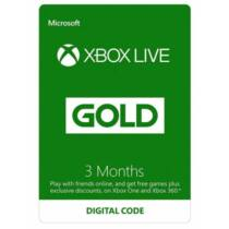 Microsoft Xbox Live Gold 3 Month Membership - 3 hónap - digitális