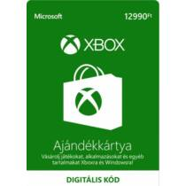 12990 forintos Microsoft XBOX ajándékkártya - digitális kód