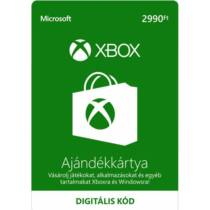 2990 forintos Microsoft XBOX ajándékkártya - digitális kód