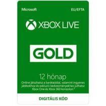 Microsoft Xbox Live Gold 12 Month Membership - 12 hónap - digitális