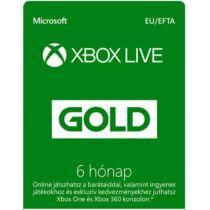 Microsoft Xbox Live Gold 6 Month Membership - 6 hónap