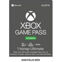 Microsoft Xbox Game Pass Ultimate 1 hónapos előfizetés Pc + Xbox + Gold - digitális