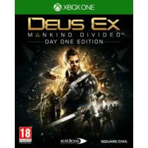 Deus Ex - Mankind Divided - Day One Edition - Xbox One játék