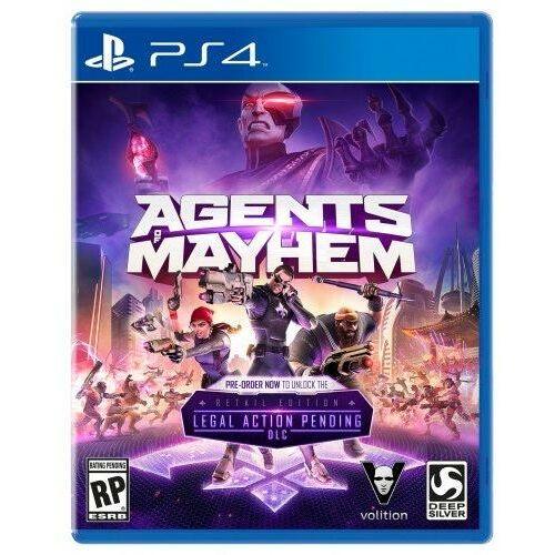 Agents of Mayhem - PS4 játék