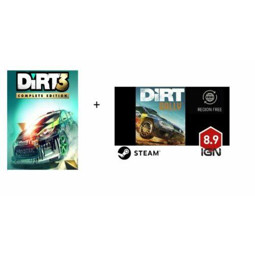 Dirt 3 + Dirt Rally (2 játék egyben) - elektronikus licensz, Steam
