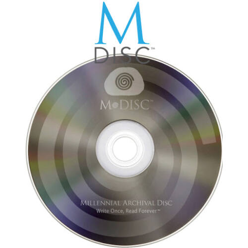 M-DISC archiválás - DVD-re (4.7 Gb)