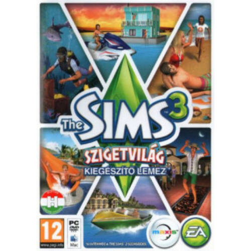 The Sims 3: Szigetvilág DLC - kiegészítő, elektronikus kulcs