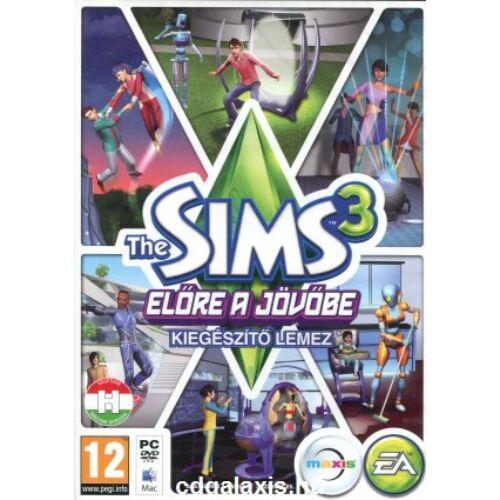 The Sims 3: Előre a jövőbe DLC - kiegészítő, elektronikus kulcs