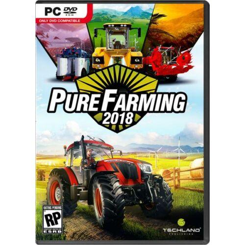 Pure Farming 2018 + ajándék DLC - PC