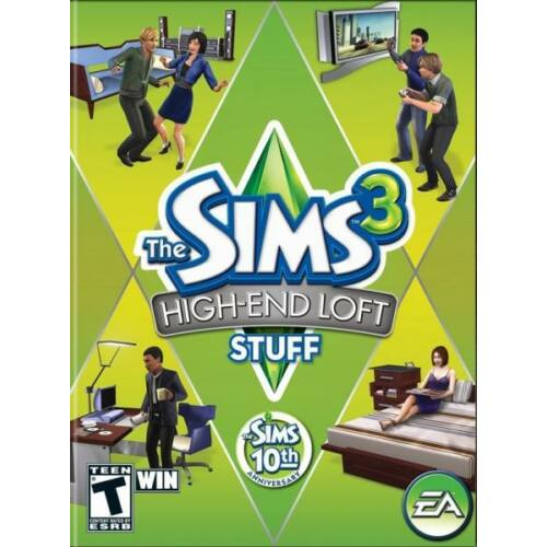 The Sims 3 High-End Loft Stuff DLC - kiegészítő, elektronikus kulcs