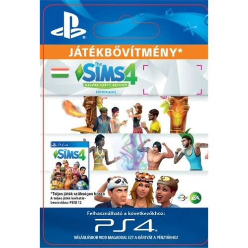 The Sims 4 Deluxe Party Ed. Upgrade - PS4 HU Digital