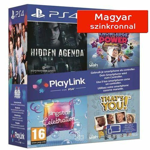 Playlink Collection -  PS4 - Hidden Agenda/KIP/SingStar/Thats You - PS4 játék csomag - magyar felirat