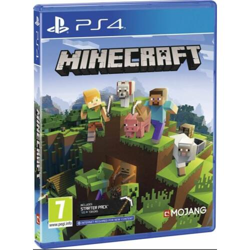 Minecraft Starter Pack (PS4) játékprogram