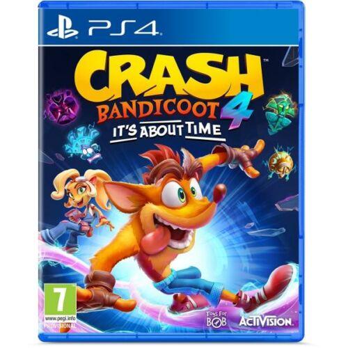 Crash Bandicoot 4 It's About Time (PS4) Játékprogram