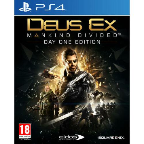 Deus Ex Mankind Divided [Day One Edition] - PS4 játék