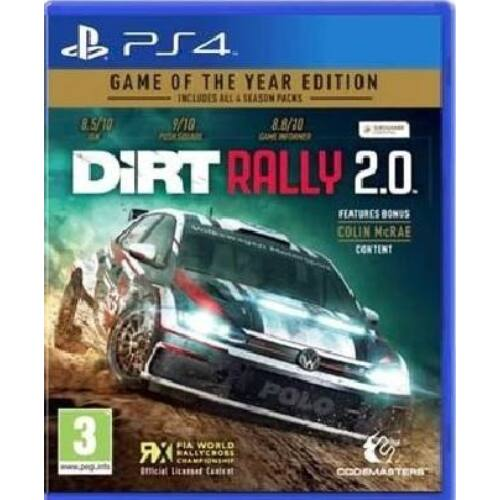 DiRT Rally 2.0 [Game of the Year Edition] (PS4)