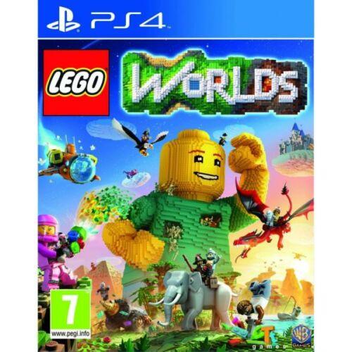 LEGO Worlds (PS4) Játékprogram