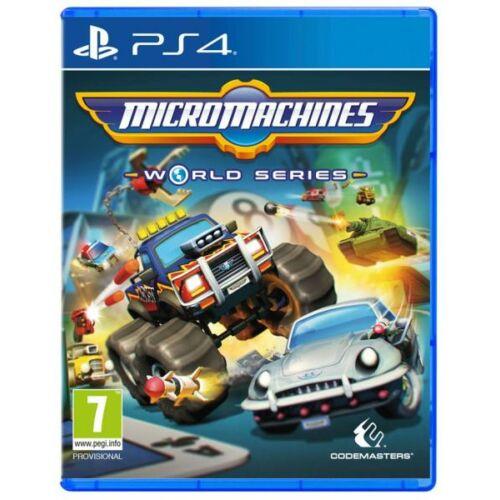Micro Machines - World Series -  PS4 játék