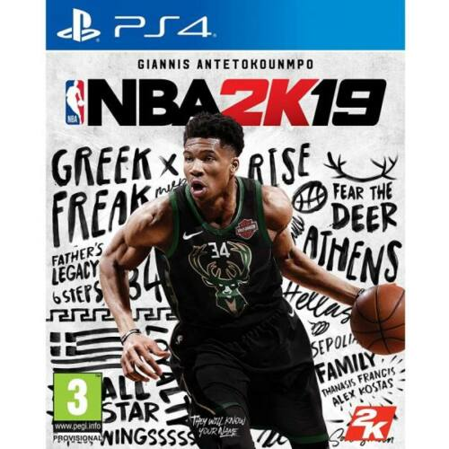 NBA 2K19 - PS4 játék