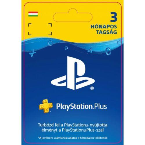 PlayStation Plus előfizetés 90 nap / 3 hónap (HU)