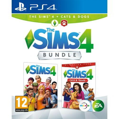 The Sims 4 Bundle - Alapjáték + Cats and Dogs kiegészítő - PS4