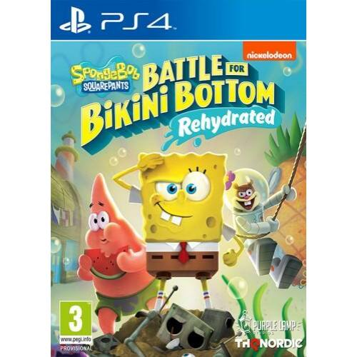 Spongebob SquarePants: Battle for Bikini Bottom - Rehydrated - PS4 játék