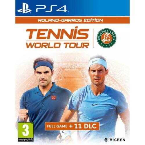 Tennis World Tour - Roland Garros Edition - PS4 játék