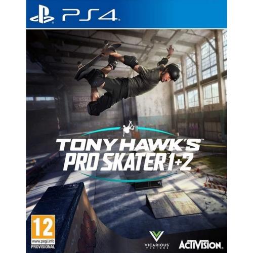 Tony Hawk's Pro Skater 1+2 (PS4) játék