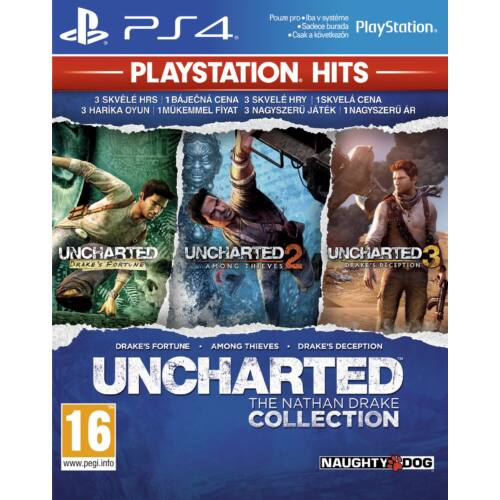 Uncharted - The Nathan Drake Collection + Uncharted 4 - PS4 játékok egyben
