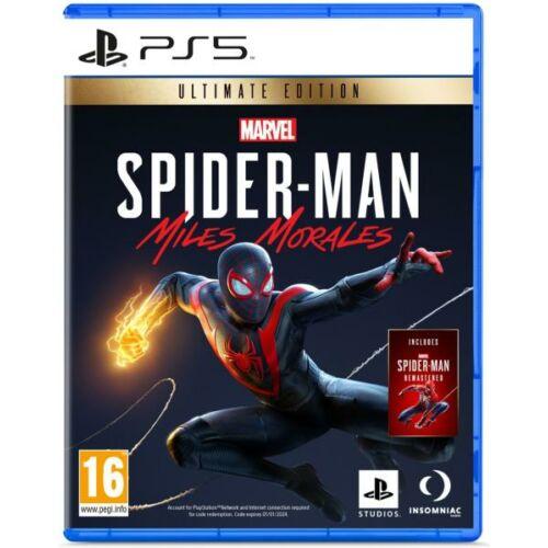 Spider-Man Miles Morales Ultimate Edition (PS5) játékprogram