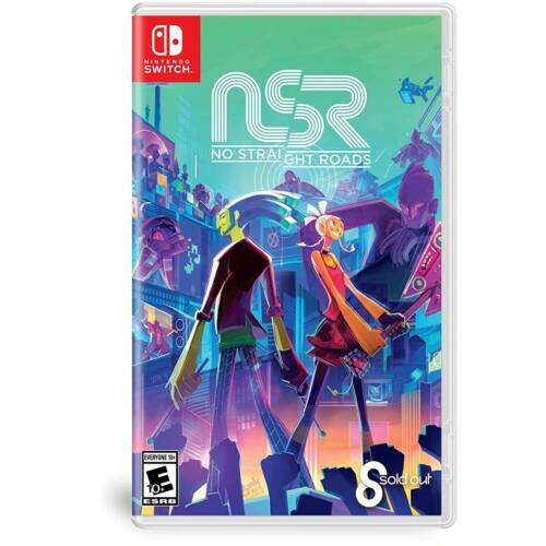 NSR No Straight Roads - Nintendo Switch játék