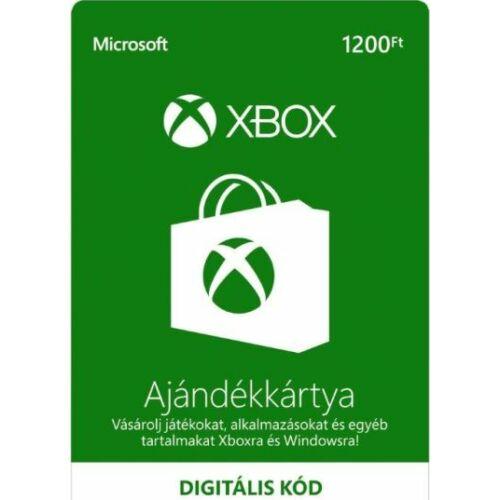 1200 forintos Microsoft XBOX ajándékkártya - digitális kód