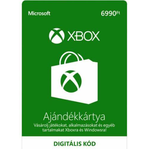 6990 forintos Microsoft XBOX ajándékkártya - digitális kód