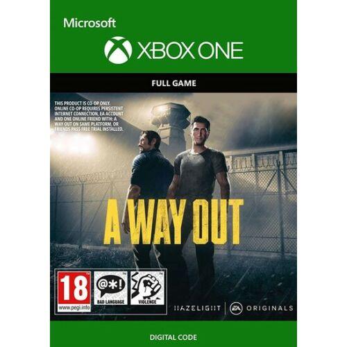 A way out - Xbox One játék - elektronikus licensz - utánvétes fizetéshez