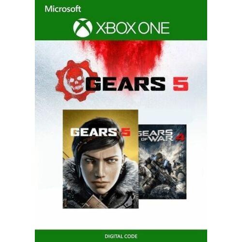 Gears of war 4 + 5 - Xbox játék - letöltőkód