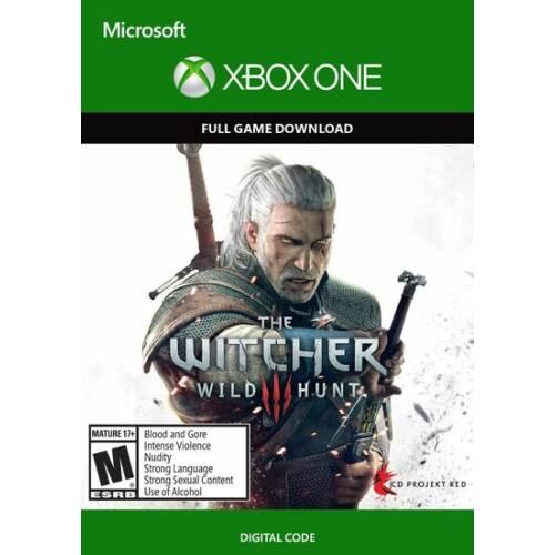The Witcher 3: Wild Hunt - Xbox one játék elektronikus licensz - kód
