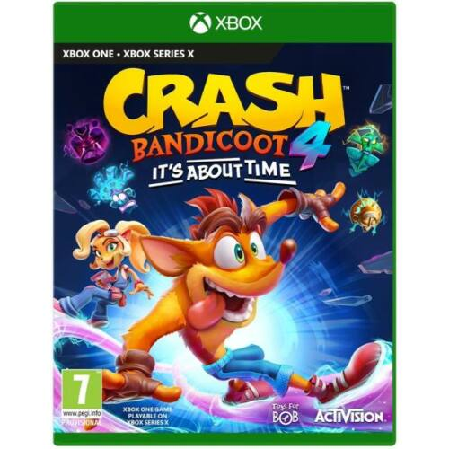 Crash Bandicoot 4 It's About Time (Xbox One) Játékprogram