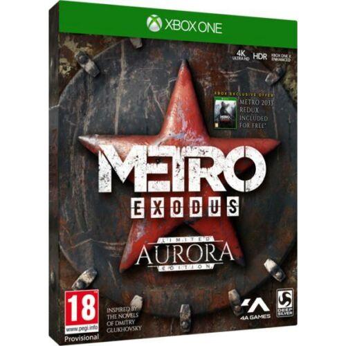 Metro Exodus: Aurora Edition - Xbox One játék - ajándék Metro 2033 Redux letöltőkóddal