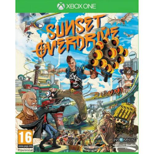 Sunset Overdrive játék - Xbox One játék